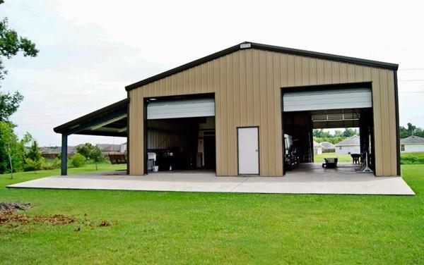 Nhà kho xưởng được thiết kế, xây dựng bằng thép tiền chế