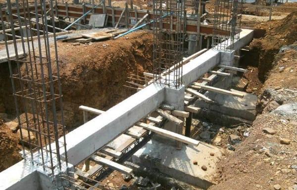 xây móng nhà cấp 4 có cột