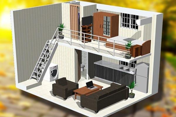 cải tạo, sửa chữa nhà cấp 4 thành nhà lầu 2 tầng đẹp