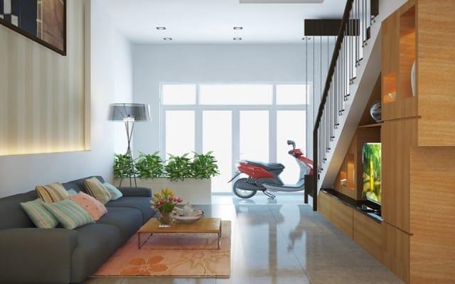 thiết kế nhà để xe máy đơn giản