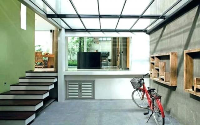 thiết kế nhà để xe máy