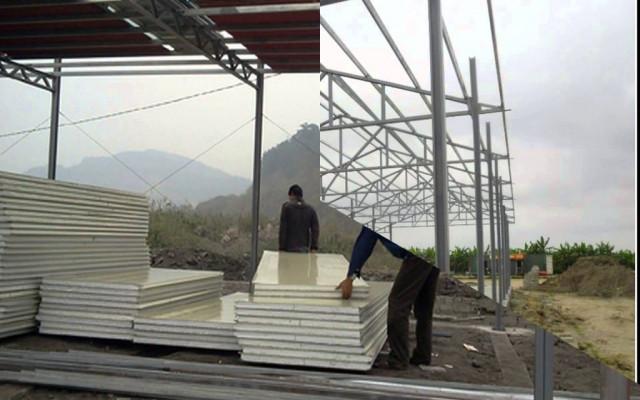phương án xây tầng bằng vật liệu nhẹ