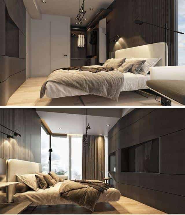 Phòng ngủ thiết kế không gian riêng tư, sang trọng