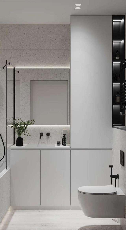 thiết kế nhà vệ sinh cho căn hộ chung cư