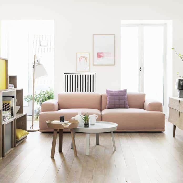 cách kết hợp sofa và bàn trà