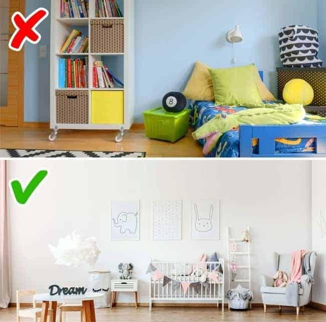 mẫu nội thất phòng ngủ cho bé