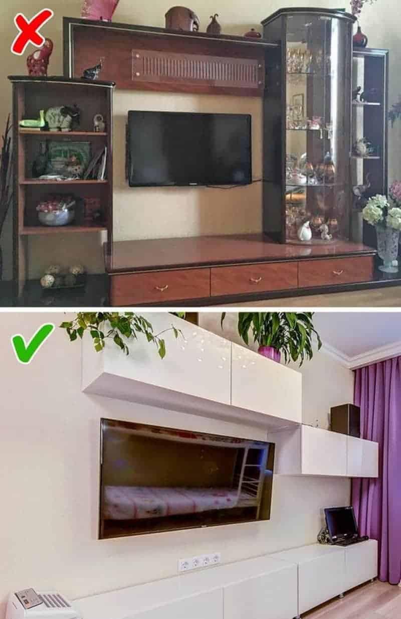 mẫu kệ tủ tivi được yêu thích