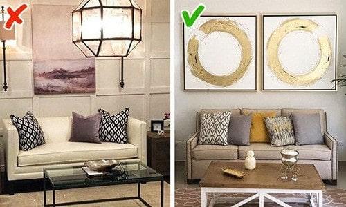 xu hướng thiết kế nội thất không còn được ưa chuộng