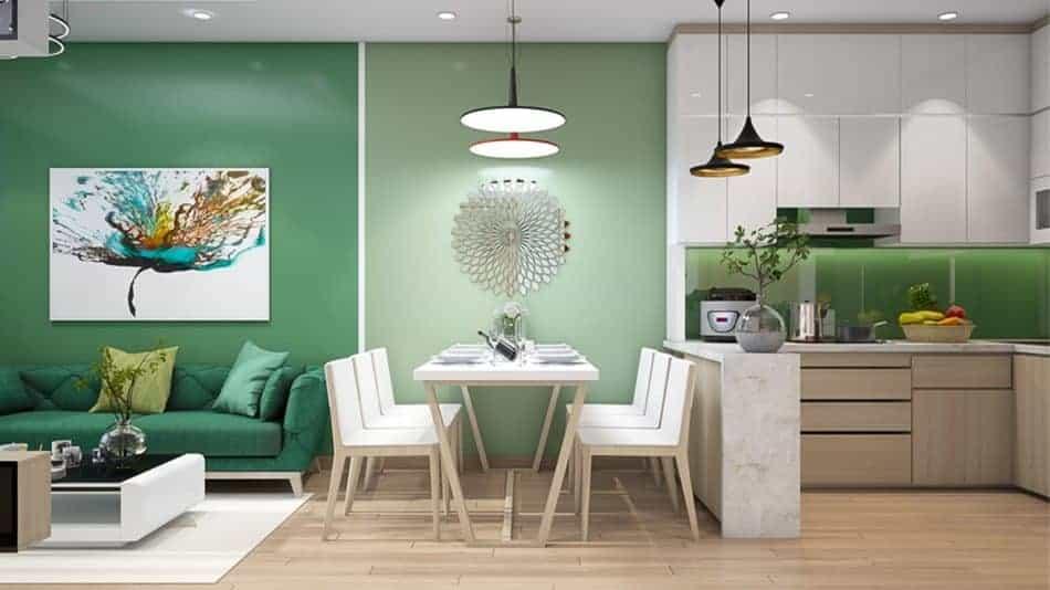 Hạn chế đặt đồ nội thất có thể để không gian rộng rãi hơn