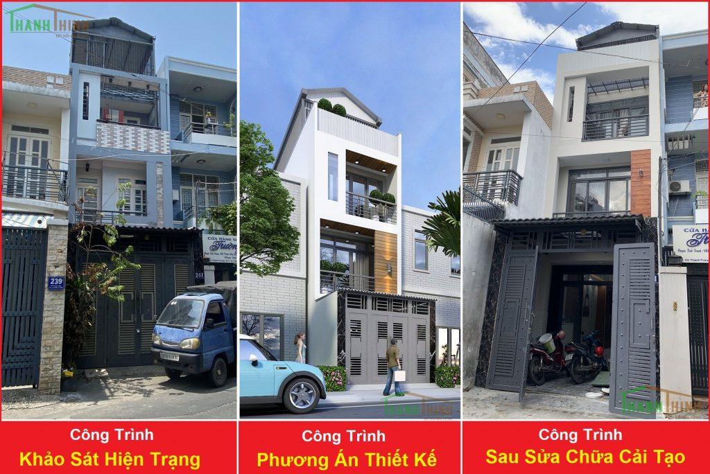 Sửa Chữa Nhà Anh Hòa 3 Tầng Võ Thành Trang, Quận Tân Bình 1