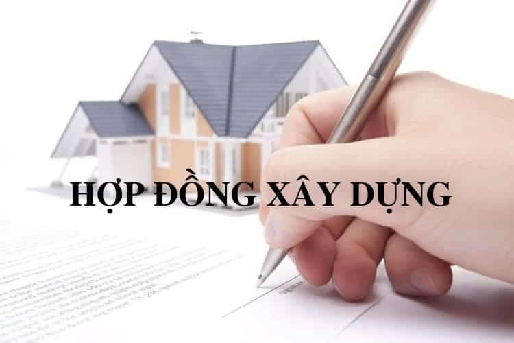 ký hợp đồng xây dựng nhà ở