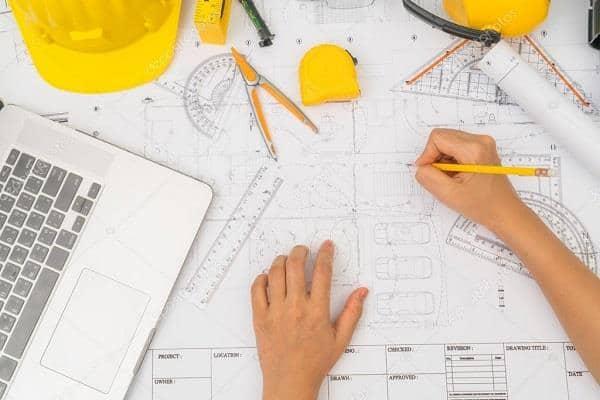 bản vẻ thiết kế xây dựng nhà ở