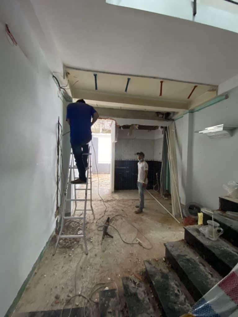 Sửa Chữa Nhà Anh Hòa 3 Tầng Võ Thành Trang, Quận Tân Bình 7