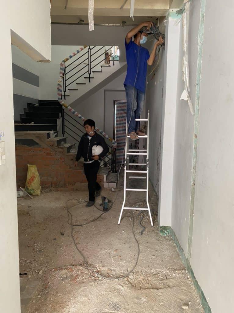 Sửa Chữa Nhà Anh Hòa 3 Tầng Võ Thành Trang, Quận Tân Bình 4