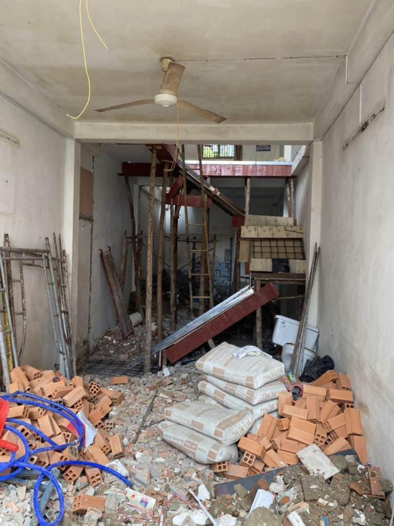 Sửa Chữa Nhà Anh Cường 1 Trệt 1 Lầu Nguyễn Văn Luông, Quận 6 4