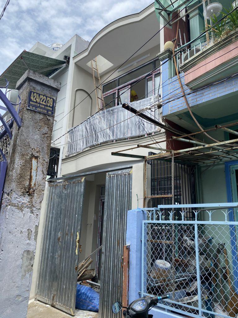 Sửa Chữa Nhà Anh Cường 1 Trệt 1 Lầu Nguyễn Văn Luông, Quận 6 14