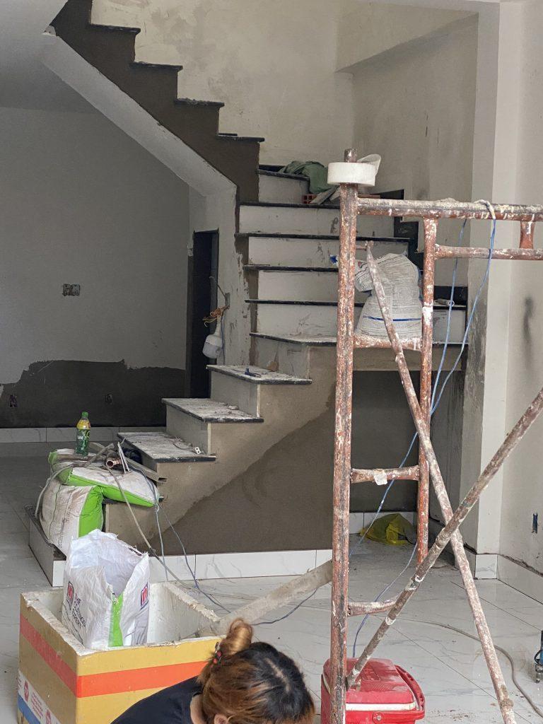 Sửa Chữa Nhà Anh Cường 1 Trệt 1 Lầu Nguyễn Văn Luông, Quận 6 9
