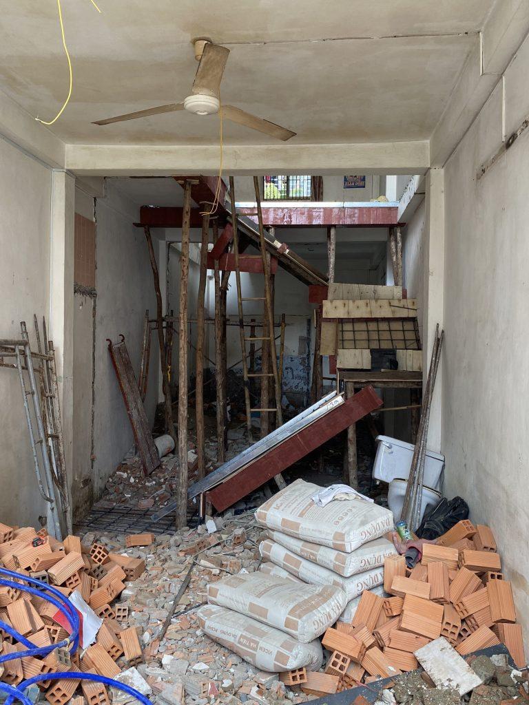 Sửa Chữa Nhà Anh Cường 1 Trệt 1 Lầu Nguyễn Văn Luông, Quận 6 8