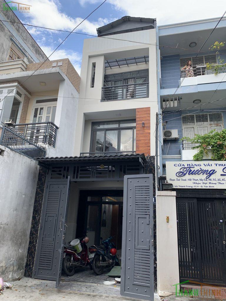 Sửa Chữa Nhà Anh Hòa 3 Tầng Võ Thành Trang, Quận Tân Bình 8