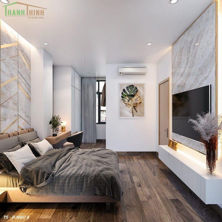 Hoàn Thiện Nhà Thô 5 Tầng Manhattan Vinhomes Grand Park 25
