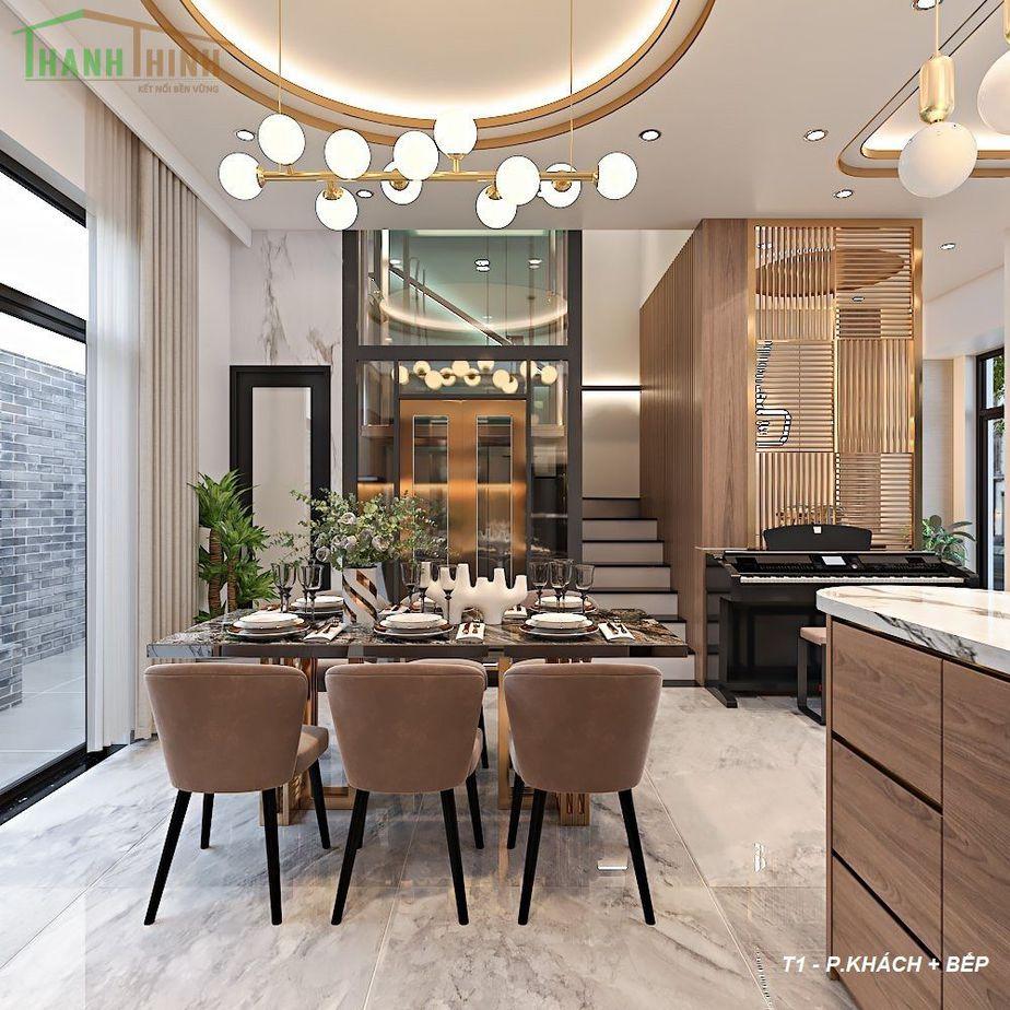 Hoàn Thiện Nhà Thô 5 Tầng Manhattan Vinhomes Grand Park 4