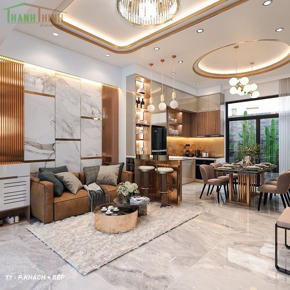 Hoàn Thiện Nhà Thô 5 Tầng Manhattan Vinhomes Grand Park 8