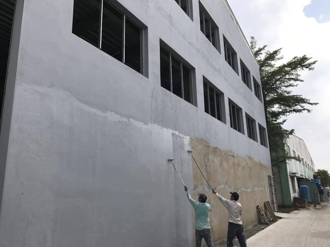 mẹo chống thấm tường nhà vào mùa mưa