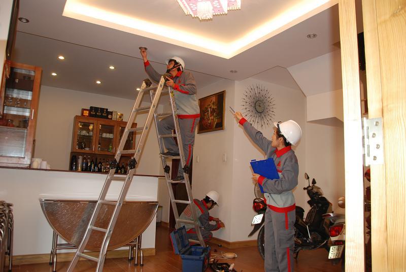 dịch vụ sửa chữa điện gia đình tại HCM