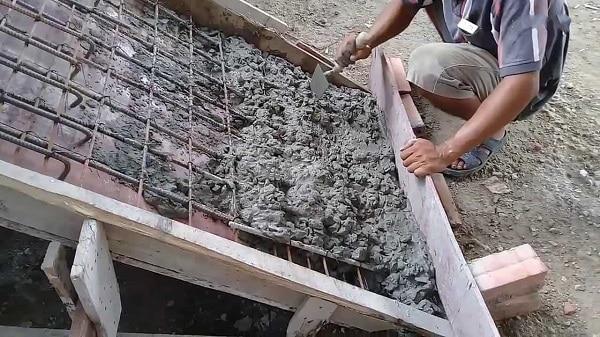 kỹ thuật đổ bê tông cầu thang