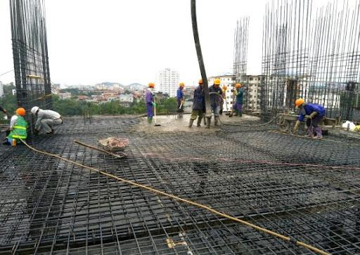 quy trình đổ bê tông sàn đúng kỹ thuật