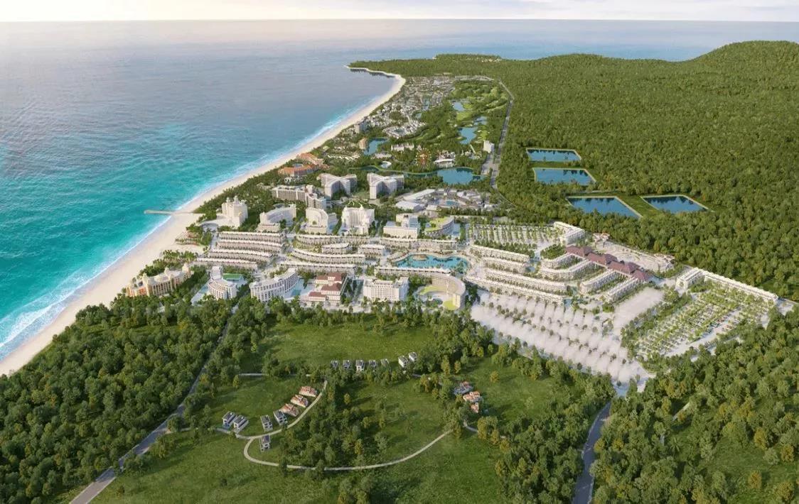 Hình ảnh tổng quan của siêu dự án Grand World Phú Quốc.