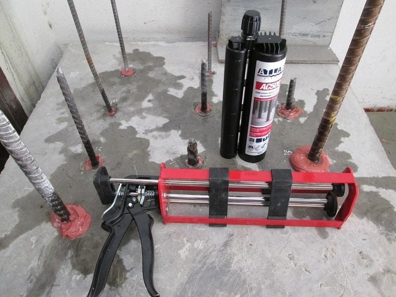 kỹ thuật khoan cấy phép vào bê tông