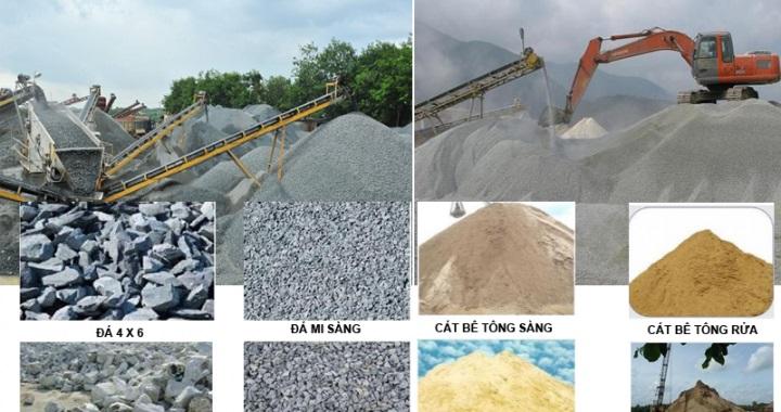 Cách chọn cát và đá xây dựng tốt