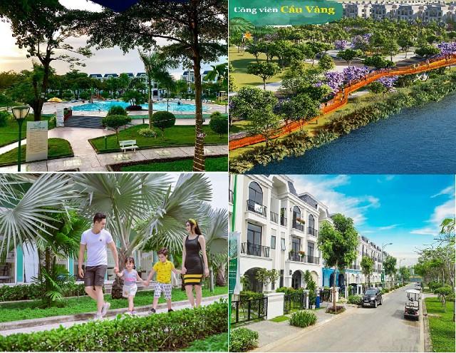 Hình ảnh hoàn thiện nhà thô tại dự án Villa Green City